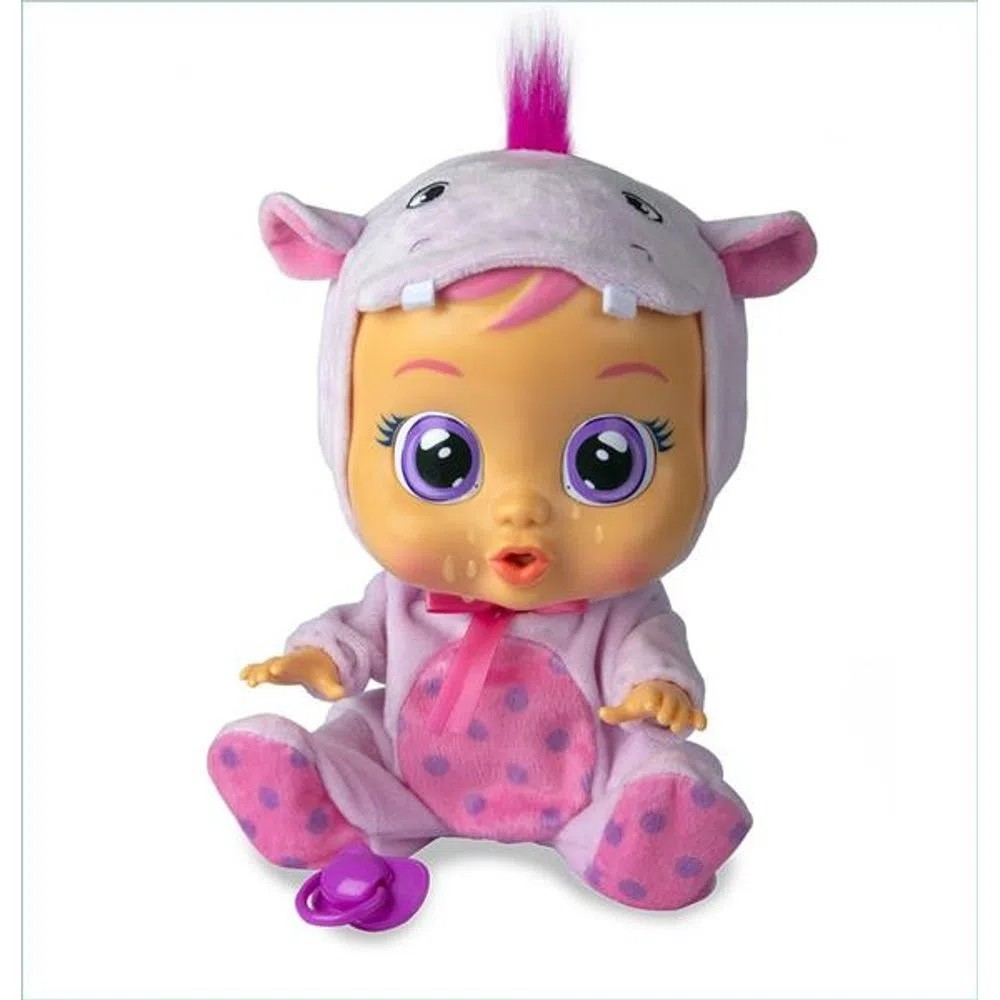Boneca Que Chora Cry Babies Hopie Br1030 Multikids