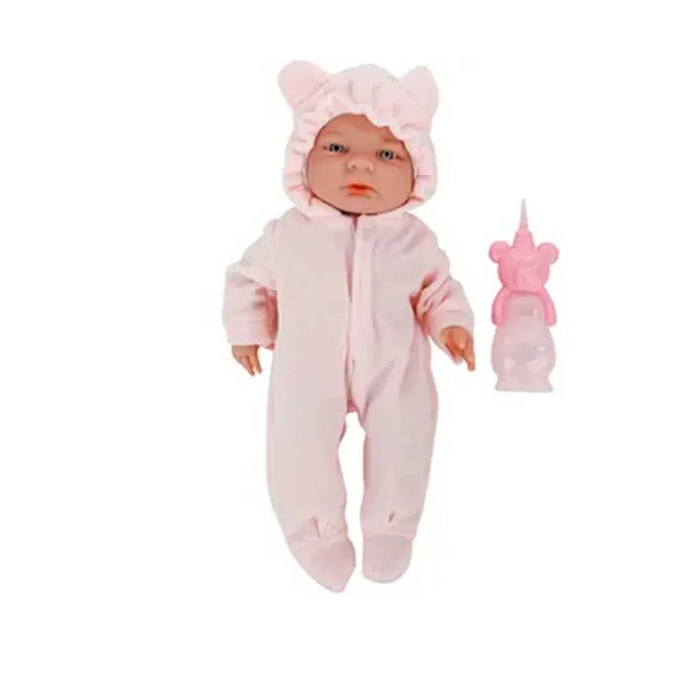 Boneca Roma Babies Seu Bebê Recém Nascido C/ Mamadeira 5074