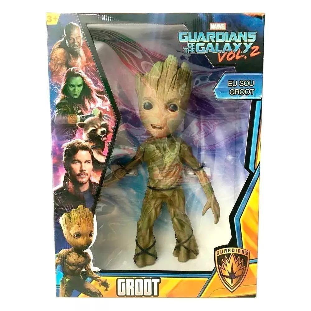 Boneco Baby Groot 50 Cm - Gigante - Mimo - Guardiões Da Galáxia