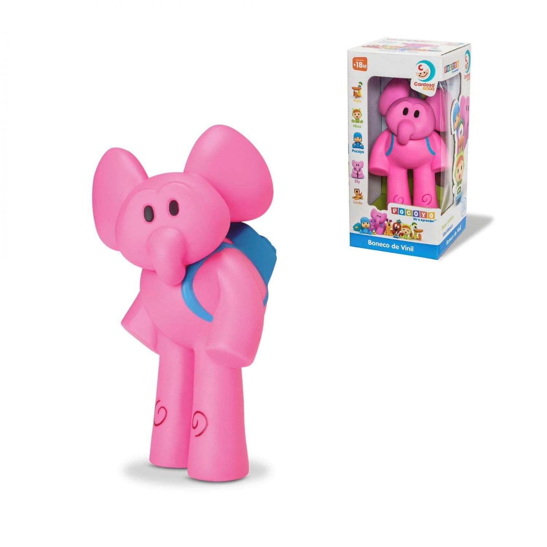 Boneco De Vinil Elly Do Pocoyo - Cardoso Toys