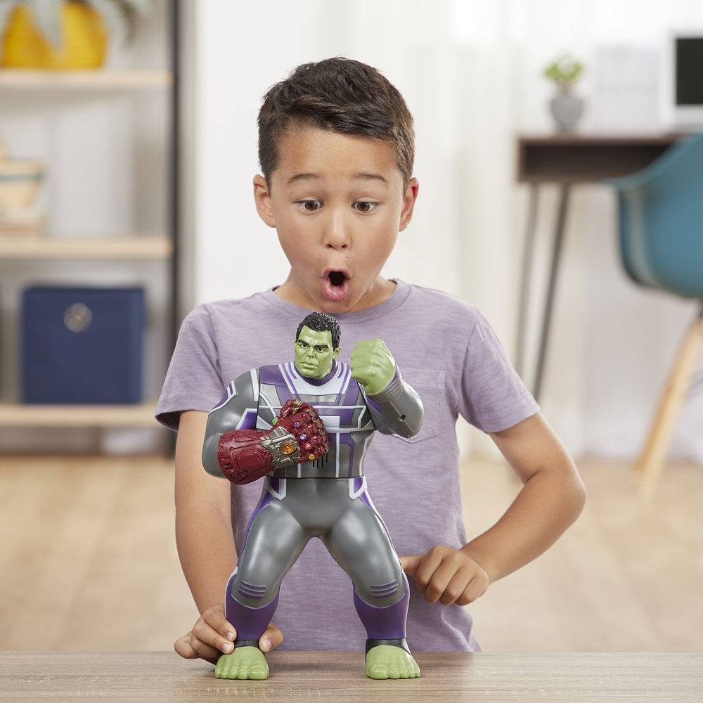 Boneco Hulk Eletronico Figure Deluxe Power Punch E3313