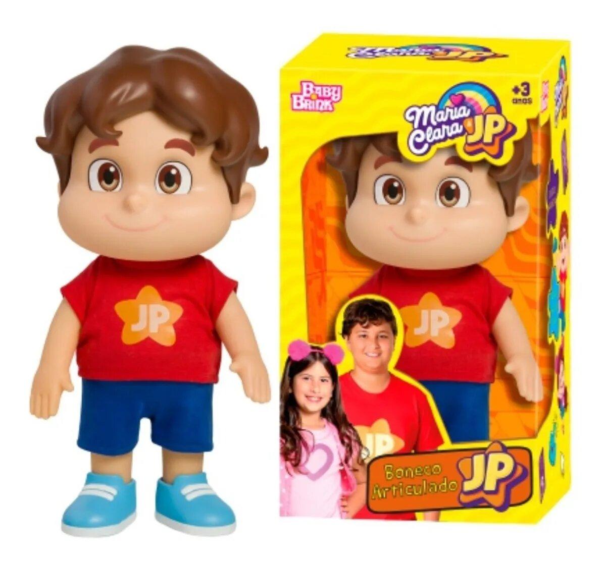 Boneco Jp Youtuber Irmão Maria Clara Original Novabrink