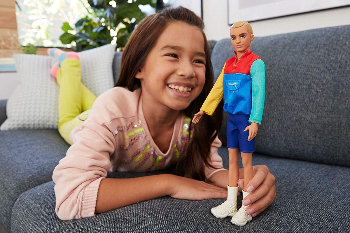 Boneco Ken Barbie Fashionista Roupa Colorida 163 Mattel
