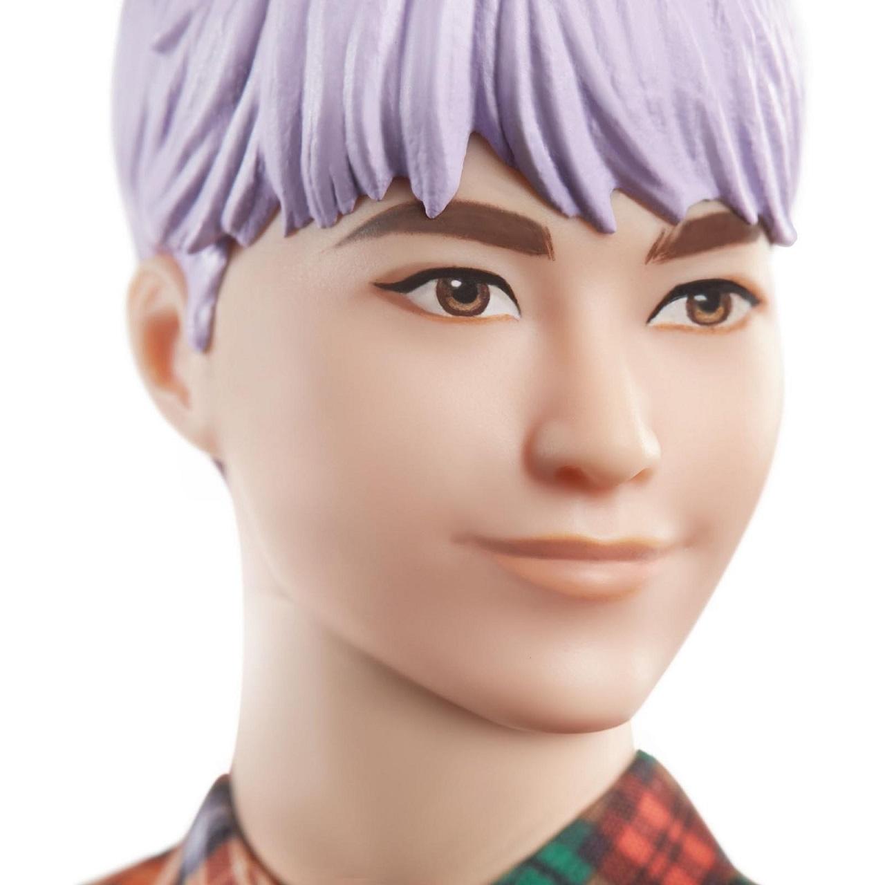 Boneco Ken Fashionista Cabelo Roxo #154 - Barbie Mattel