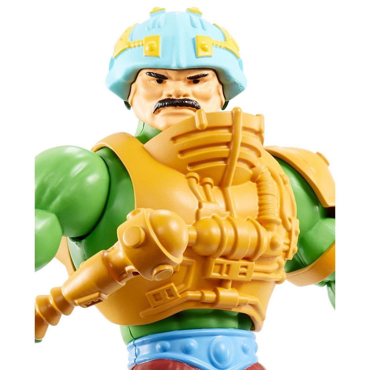 Boneco Mentor 14cm Retrô Motu Masters Of The Universe Mattel