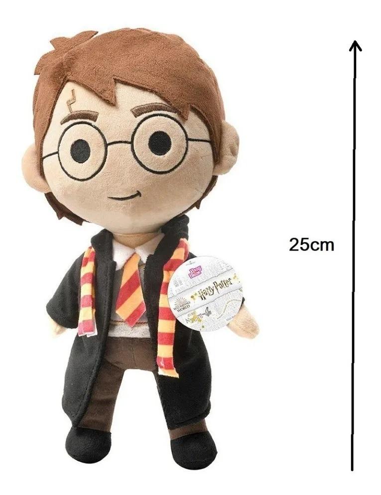 Boneco Pelúcia Harry Potter De 34 Cm Bruxinho Baby Brink