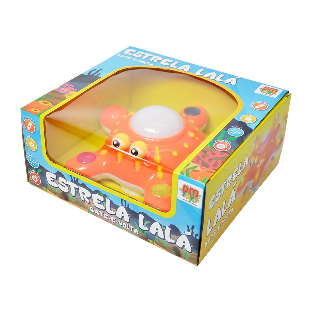 Brinquedo Estrela Lalá Bate Volta Musical Dm Toys 3900