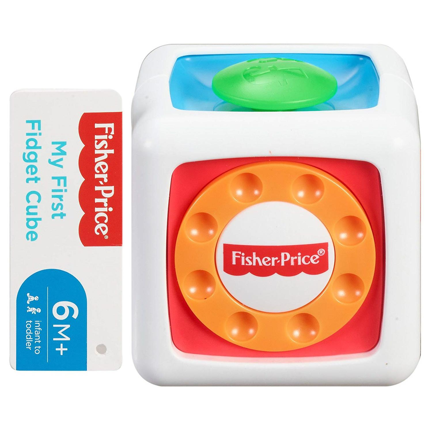 Brinquedo Fidget Cube Cubo Divertido Fisher Price