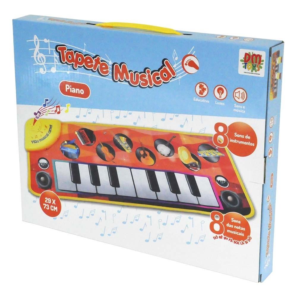 Brinquedo Para Bebês Tapete Didático Musical Som Instrumento