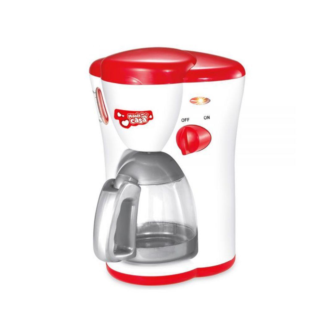 Cafeteira Infantil Mania De Casa Vermelho - Dm Toys