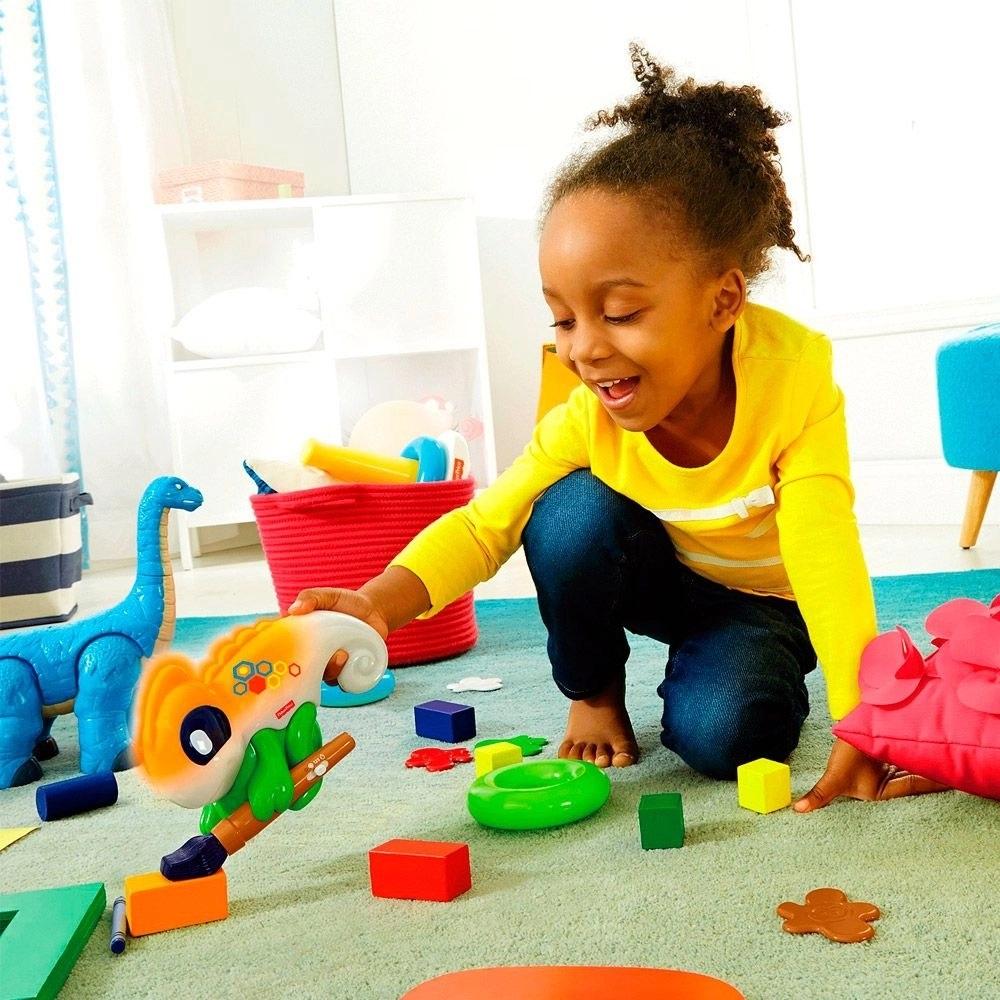 Camaleão das Cores Infantil Educativo  Fisher Price