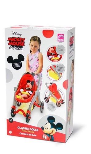 Carrinho de Boneca do Mickey Classic Dolls Roma