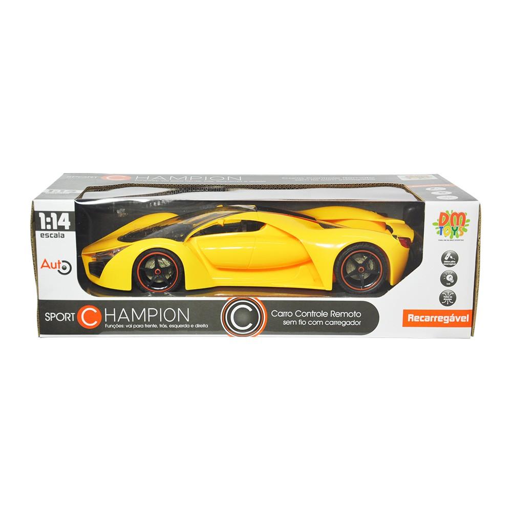 Carrinho de Controle Remoto Lamborghini Sport Champion