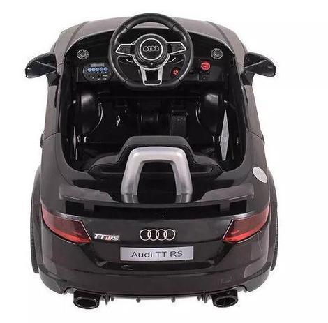Carro Eletrico Audi TT RS Preto 12V - BelFix
