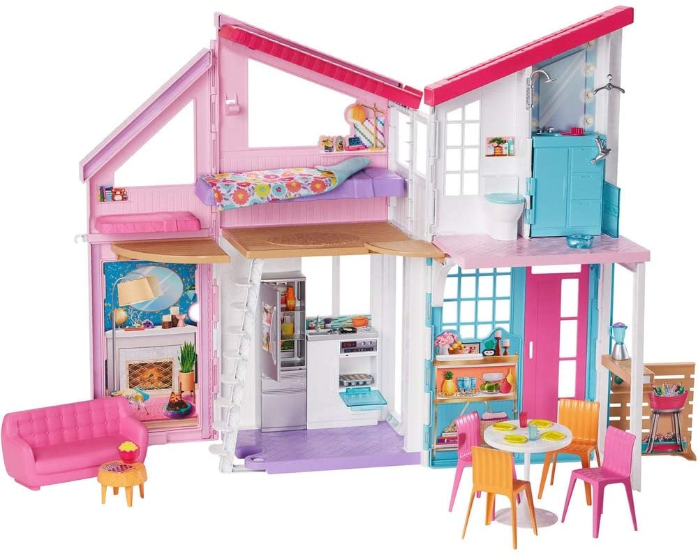 Casa Da Barbie Malibu House 25 Acessórios Fxg57  Mattel