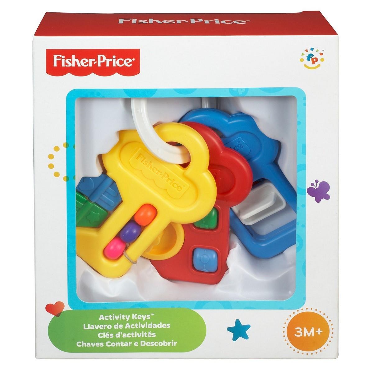Chaves De Atividade - Fisher Price - Mattel 71084