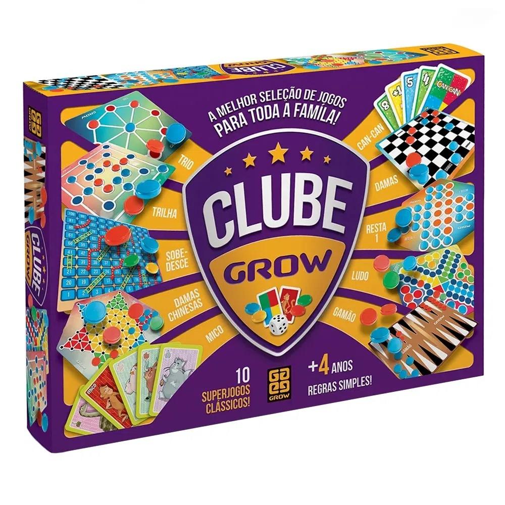 Clube Grow 10 Jogos Clássicos 02399 - Grow