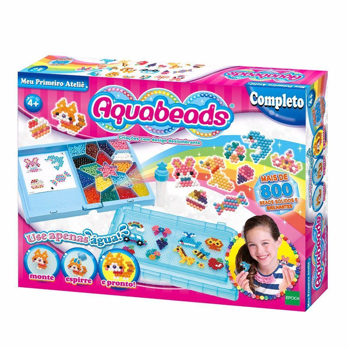 Conjunto Aquabeads - Meu Primeiro Atelie - Epoch