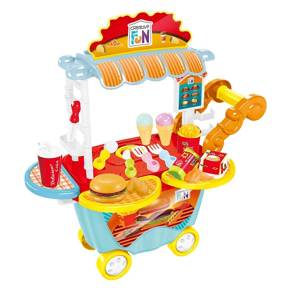 Creative Fun Food Truck Hamburgueria Br1104 - Multikids
