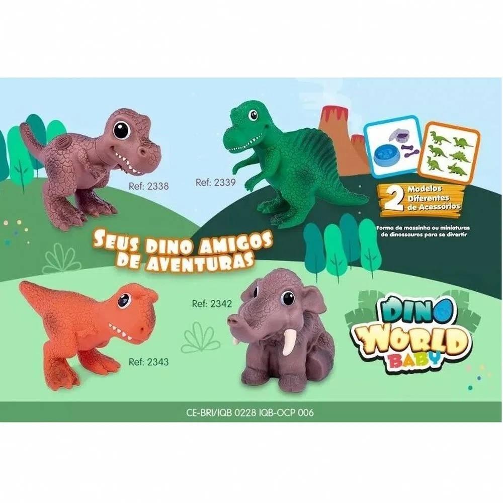 Dinossauro Dino World Babys T-rex Dinossaurinhos - Cotiplás