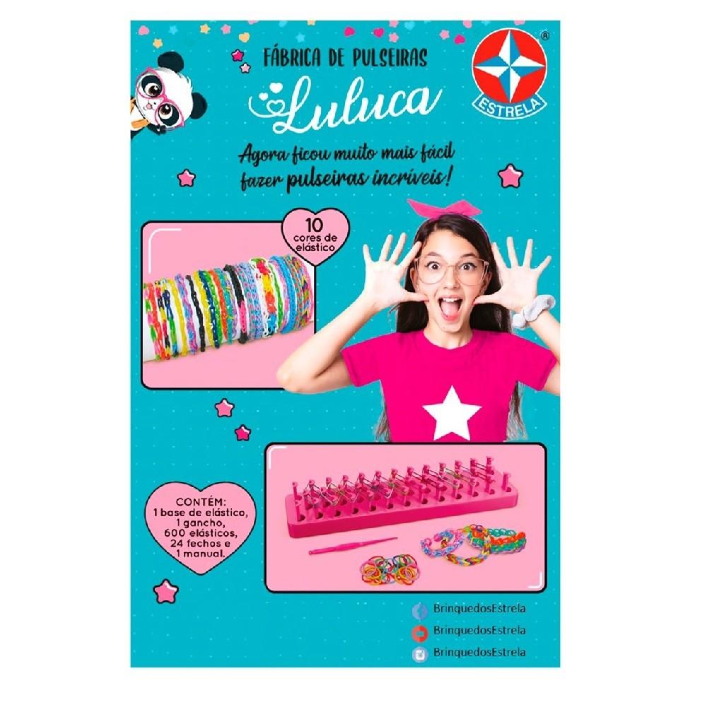 Fabrica De Pulseiras Da Luluca Oficial Kit Completo Estrela