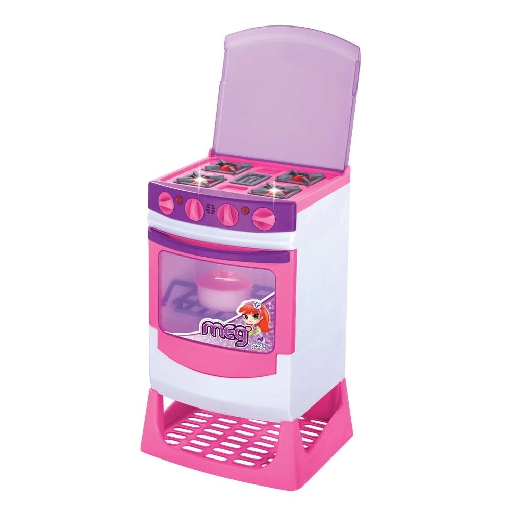 Fogão Brinquedo Infantil Eletrônico Master Chef 8014