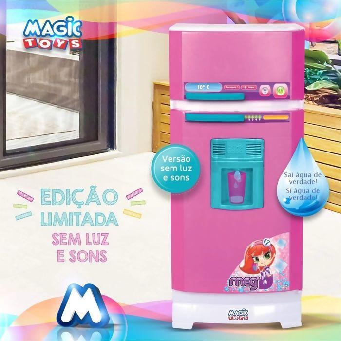Geladeira Infantil Magica Super Sai Água Sem Som Magic Toys