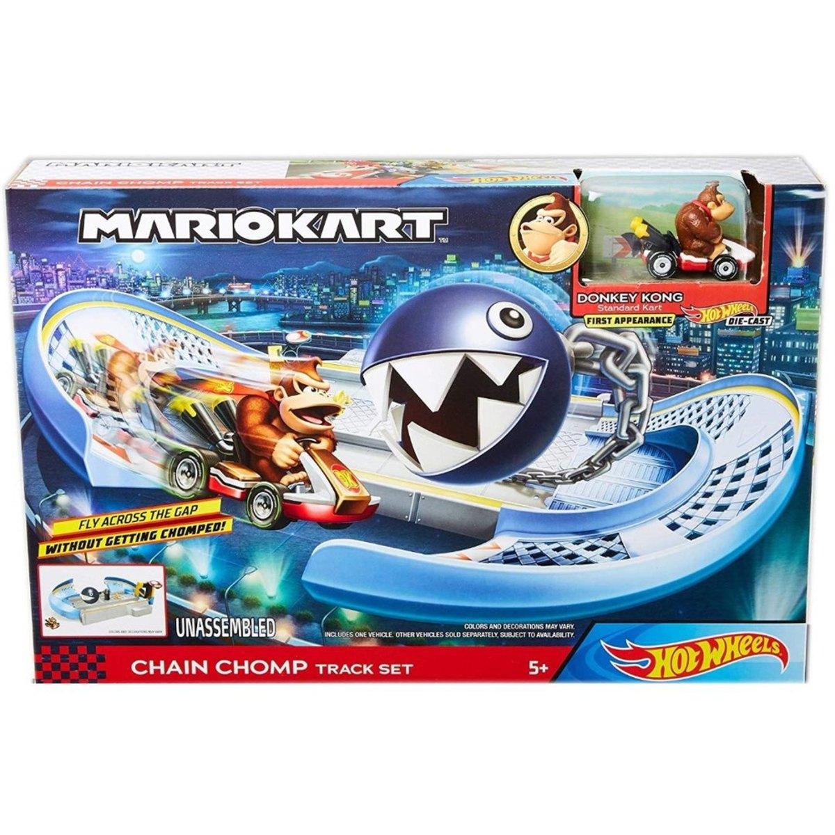 Hot Wheels Mario Kart Circuito Chomp Cadenas Gky48 Mattel