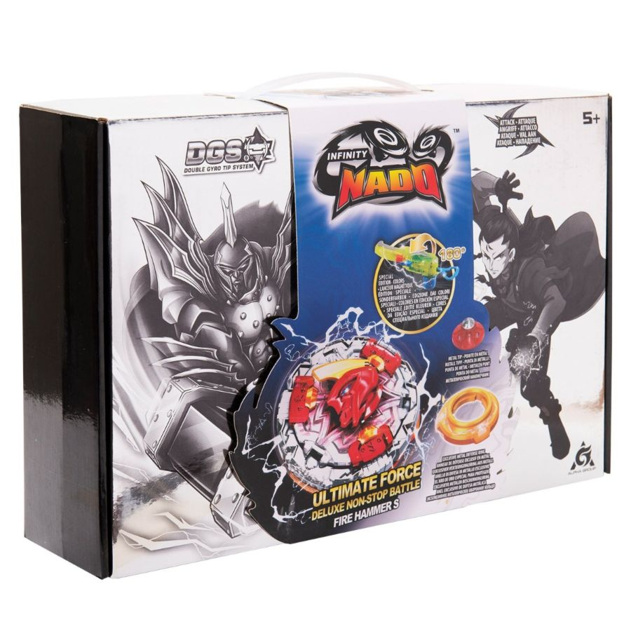 Infinity Nado Ultimate Force Deluxe Non-Stop Battle Candide