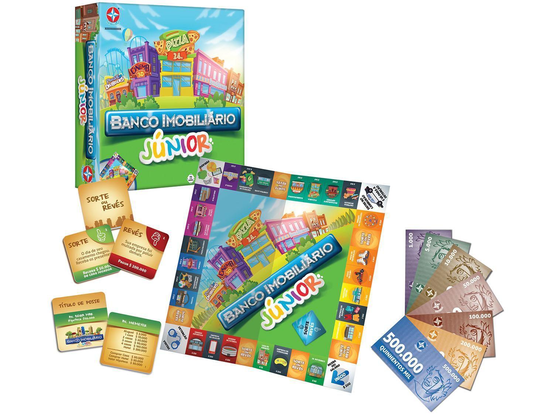 Jogo Banco Imobiliário Junior Criança - Estrela Original