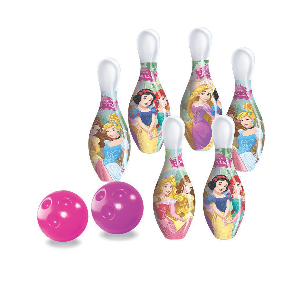 Jogo De Boliche Princesas Infantil 6 Pinos Lider Brinquedos
