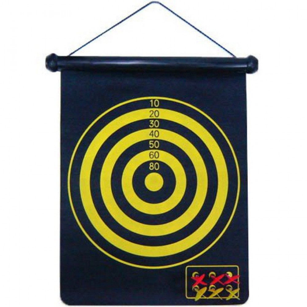 Jogo De Dardos Alvo Profissional Magnetico Alvo Duplo 46x36