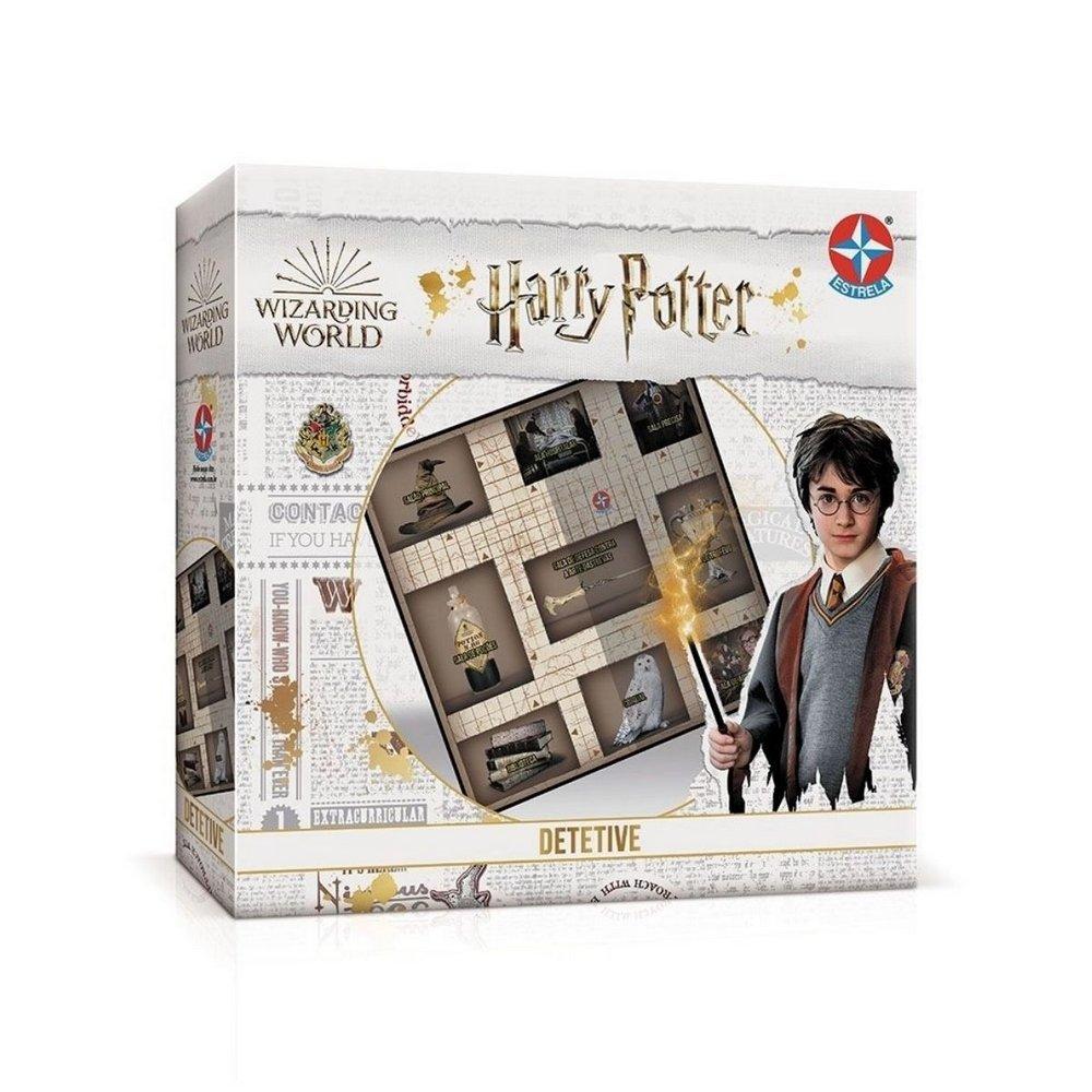 Jogo De Tabuleiro Detetive Harry Potter - Estrela Lançamento