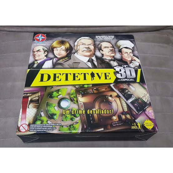 Jogo Detetive - 3D - Estrela