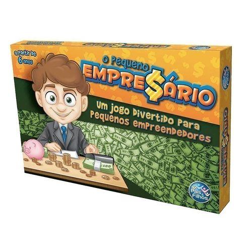 Jogo O Pequeno Empresario 7967 - Pais e Filhos