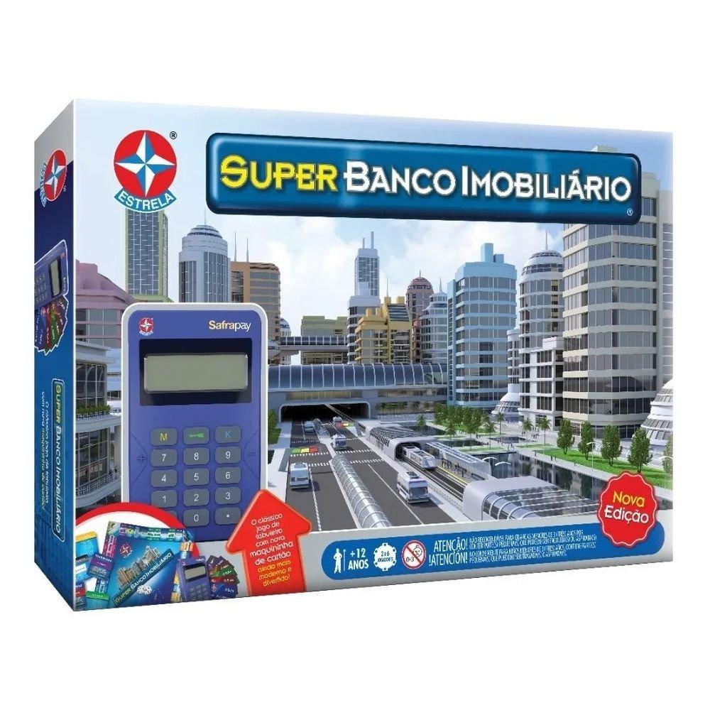 Jogo Super Banco Imobiliário Com Maquina De Cartão - Estrela