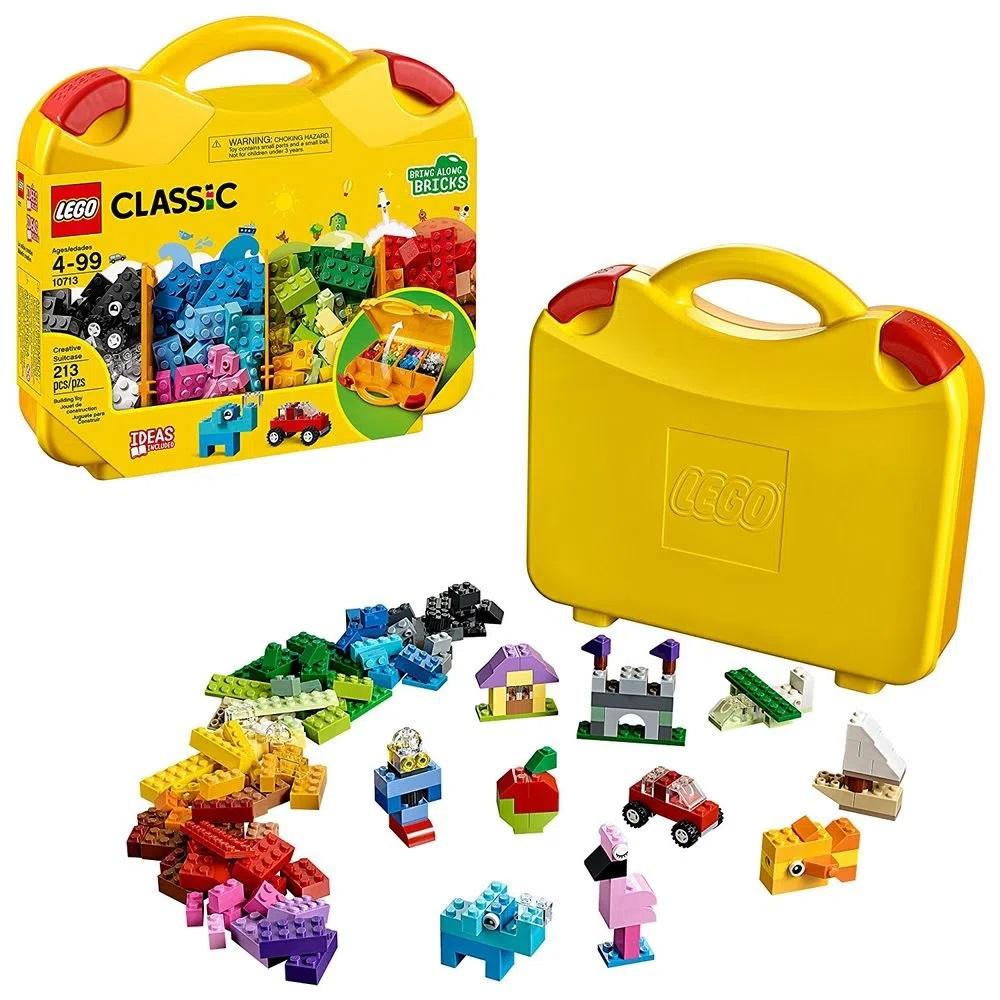 Lego Classic Maleta Da Criatividade Blocos de Montar 213 Pçs