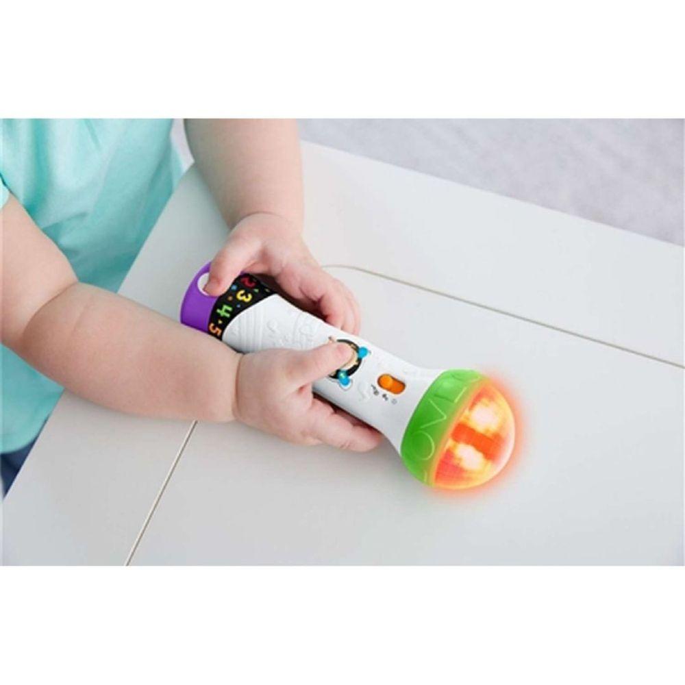 Microfone Aprender e Brincar Fisher Price - Mattel