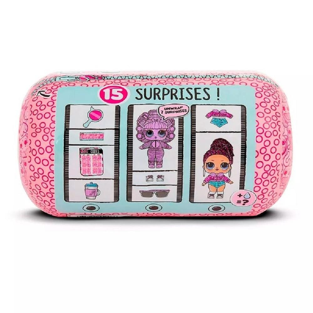 Mini Boneca Lol Surprise Capsula Under Wraps 8911 - Candide