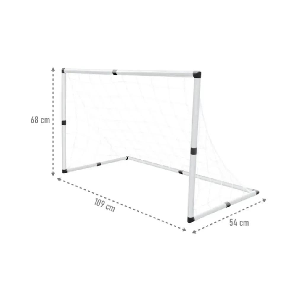 Mini Trave Gol Futebol Infantil 2 Em 1 C/ Bola E Bomba - DM