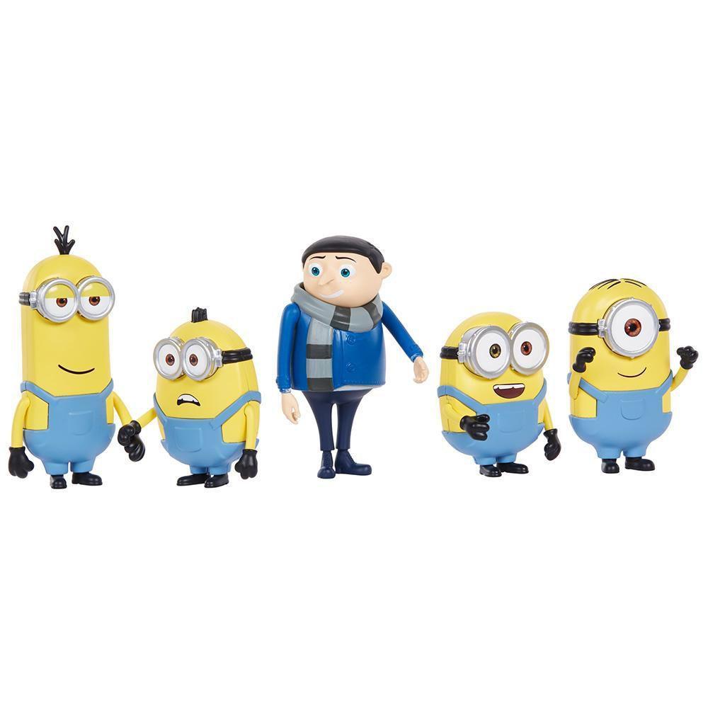 Minions Kit Clássico Com 5 Figuras - Mattel Gpk84