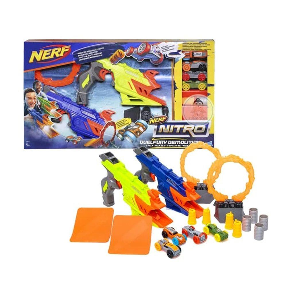 Nerf Lançador de Carro Nitro Duelfury Demolition Hasbro