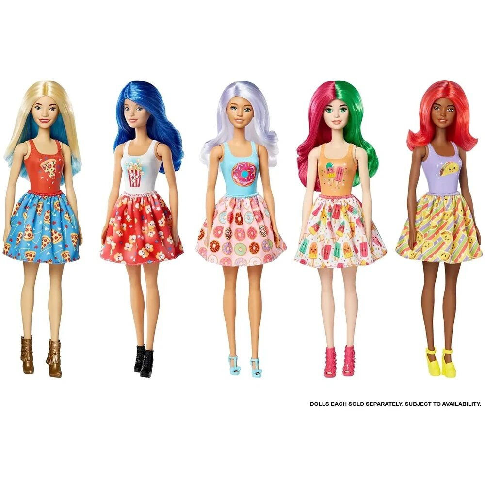 Nova Barbie Surpresa Color Reveal 07 Surpresa Mattel Serie 2