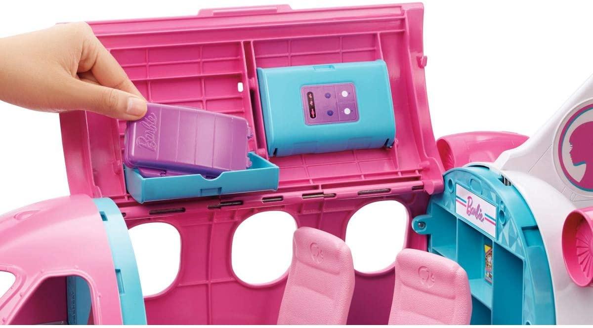 Novo Avião da Barbie Jatinho Aventuras da Barbie  Mattel