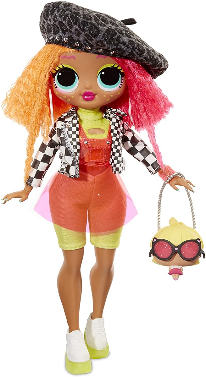 Novo Lançamento Lol Surprise Lol Omg Fashion Doll Neonlicius