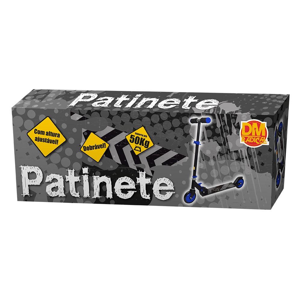 Patinete Infantil Radical 50 Kg em Aluminio Dobrável