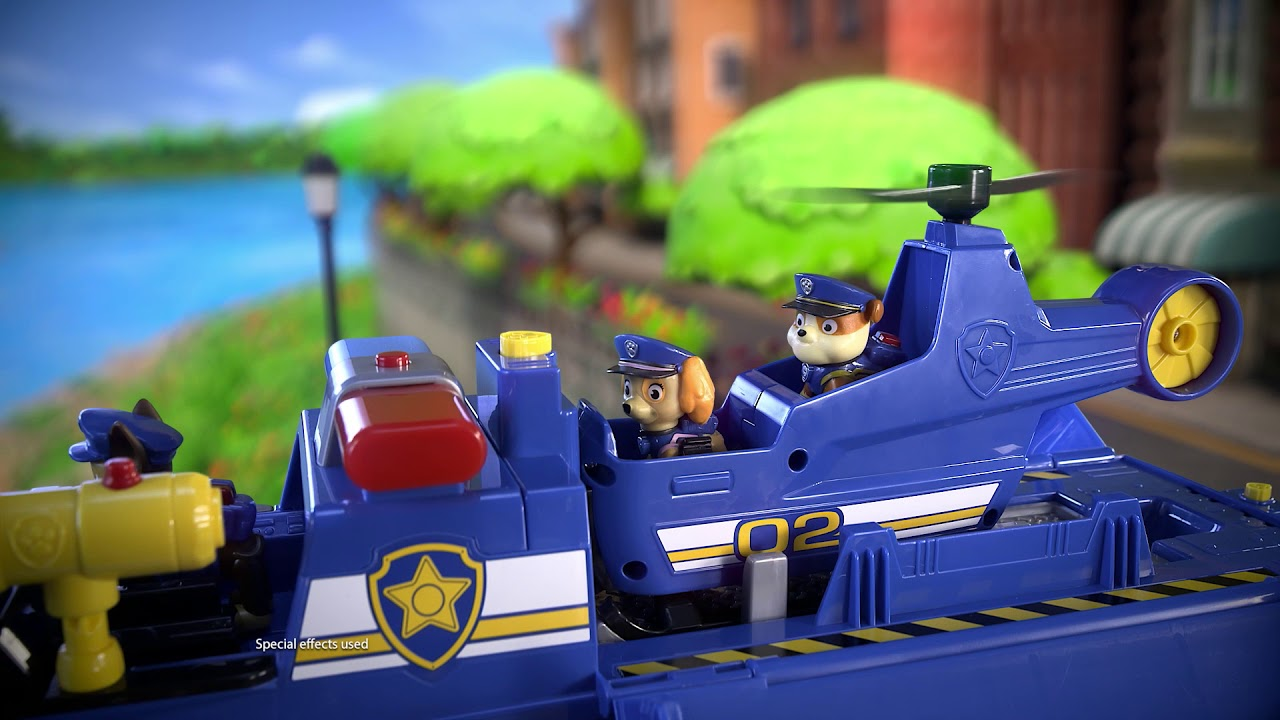 Patrulha Canina Chase Ultimate Police Cruiser 5 Em 1 Sunny