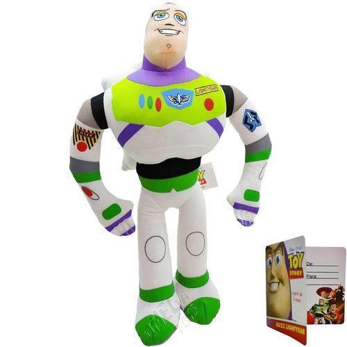 Pelúcia Buzz Lightyear, Toy Story C/ Som 30cm - Multikids