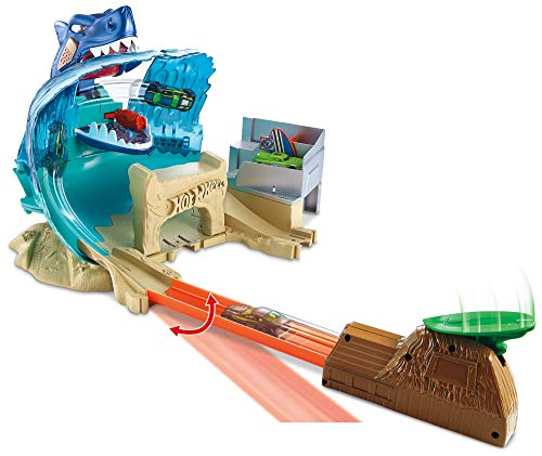 Pista Hot Wheels City  Ataque De Tubarão Fnb21  Mattel