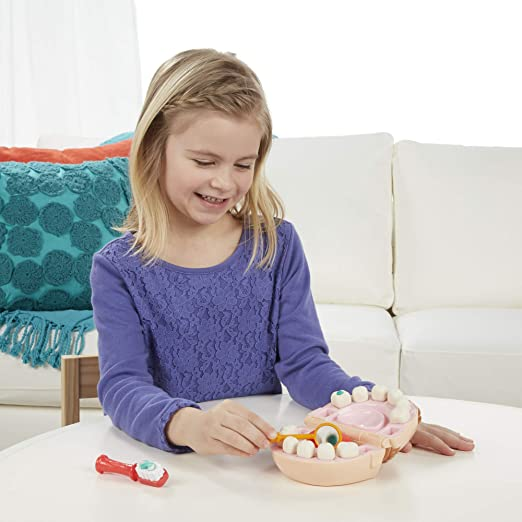 Play Doh Massinha Brincando De Dentista B5520 - Hasbro